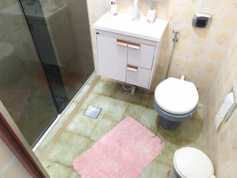 Banheiro social - Casa à venda Travessa da Brandura,Vila da Penha, Rio de Janeiro - R$ 1.080.000 - VPCA20340 - 11