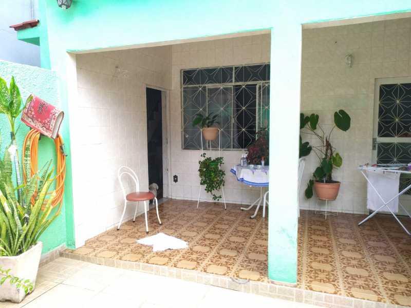 Frente da casa. - Casa à venda Travessa da Brandura,Vila da Penha, Rio de Janeiro - R$ 1.080.000 - VPCA20340 - 3