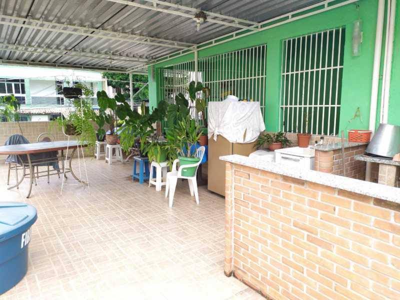 Terraço.. - Casa à venda Travessa da Brandura,Vila da Penha, Rio de Janeiro - R$ 1.080.000 - VPCA20340 - 22