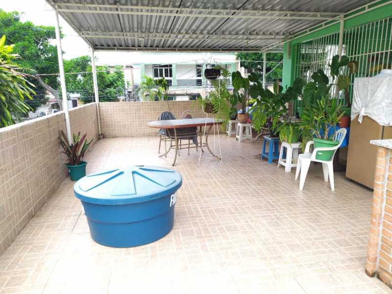 Terraço. - Casa à venda Travessa da Brandura,Vila da Penha, Rio de Janeiro - R$ 1.080.000 - VPCA20340 - 23