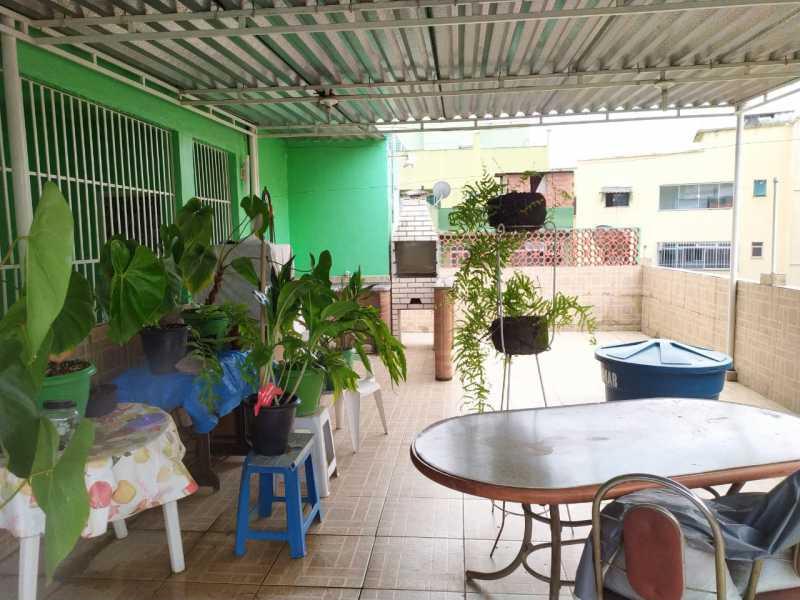 terraço - Casa à venda Travessa da Brandura,Vila da Penha, Rio de Janeiro - R$ 1.080.000 - VPCA20340 - 21