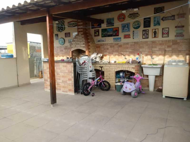 17 - Casa em Condomínio 2 quartos à venda Rocha Miranda, Rio de Janeiro - R$ 220.000 - VPCN20035 - 17