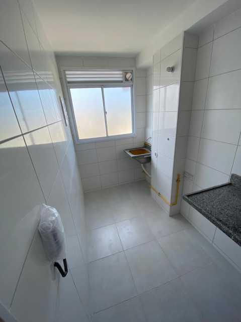 8-banheiro com area de servico - Apartamento à venda Estrada do Colégio,Colégio, Rio de Janeiro - R$ 240.000 - VPAP21768 - 9