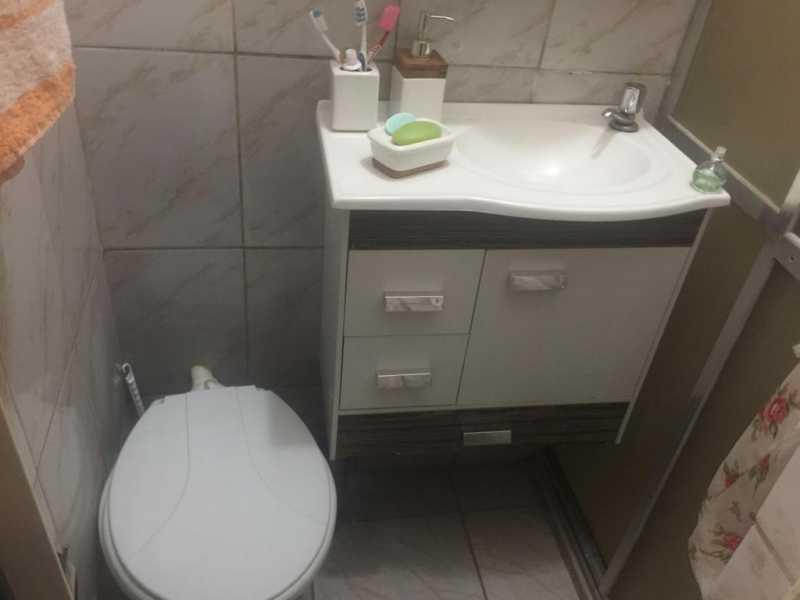 08- Banheiro - Casa de Vila à venda Rua Aguapé,Parada de Lucas, Rio de Janeiro - R$ 150.000 - VPCV10039 - 9
