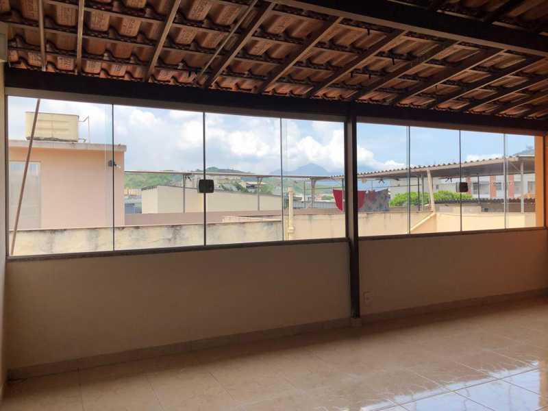 Terraço - Casa à venda Rua São João Gualberto,Vila da Penha, Rio de Janeiro - R$ 490.000 - VPCA20358 - 20
