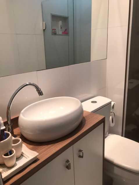 Banheiro. - Casa em Condomínio à venda Rua Guandu Mirim,Campo Grande, Rio de Janeiro - R$ 220.000 - VPCN20036 - 17