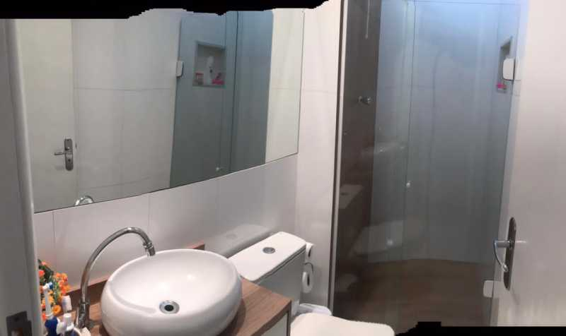 Banheiro - Casa em Condomínio à venda Rua Guandu Mirim,Campo Grande, Rio de Janeiro - R$ 220.000 - VPCN20036 - 16