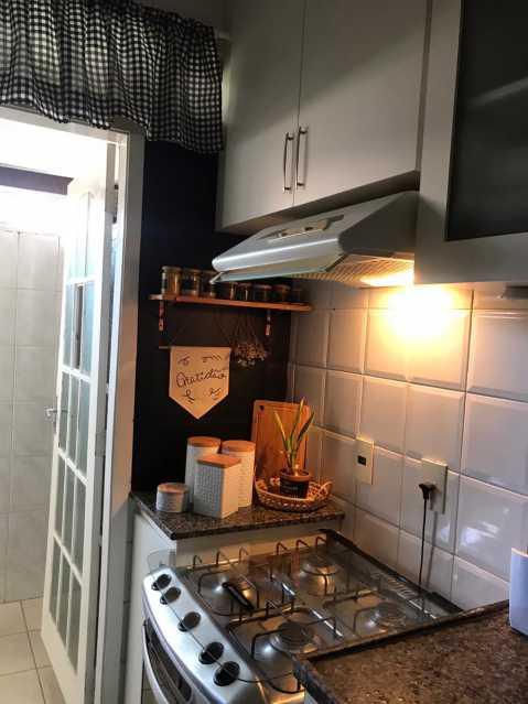 Cozinha.. - Casa em Condomínio à venda Rua Guandu Mirim,Campo Grande, Rio de Janeiro - R$ 220.000 - VPCN20036 - 11