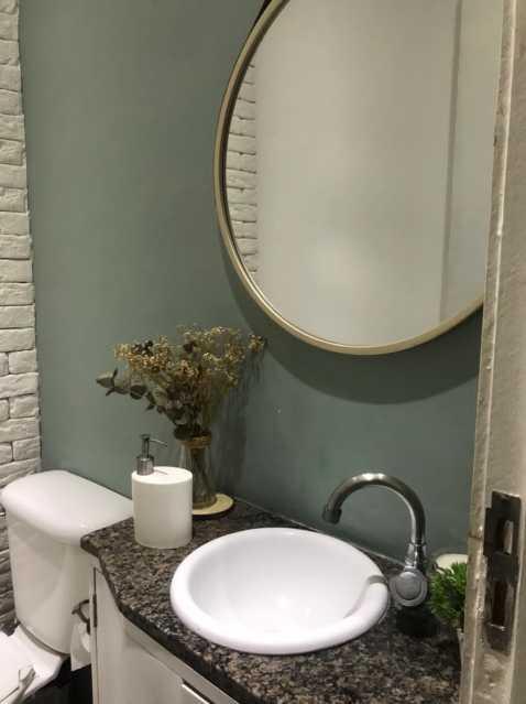 Lavabo... - Casa em Condomínio à venda Rua Guandu Mirim,Campo Grande, Rio de Janeiro - R$ 220.000 - VPCN20036 - 6