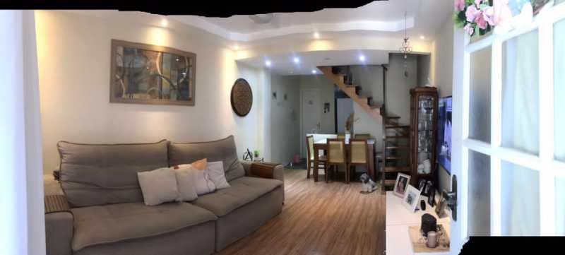 Sala. - Casa em Condomínio à venda Rua Guandu Mirim,Campo Grande, Rio de Janeiro - R$ 220.000 - VPCN20036 - 3