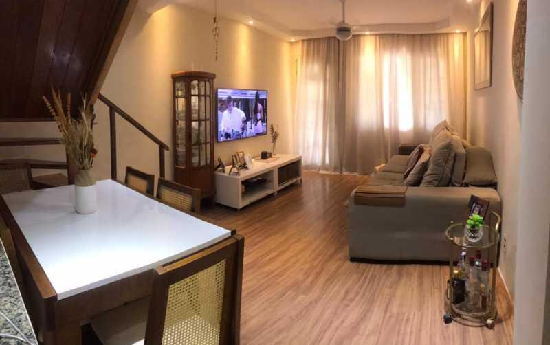 Sala - Casa em Condomínio à venda Rua Guandu Mirim,Campo Grande, Rio de Janeiro - R$ 220.000 - VPCN20036 - 4