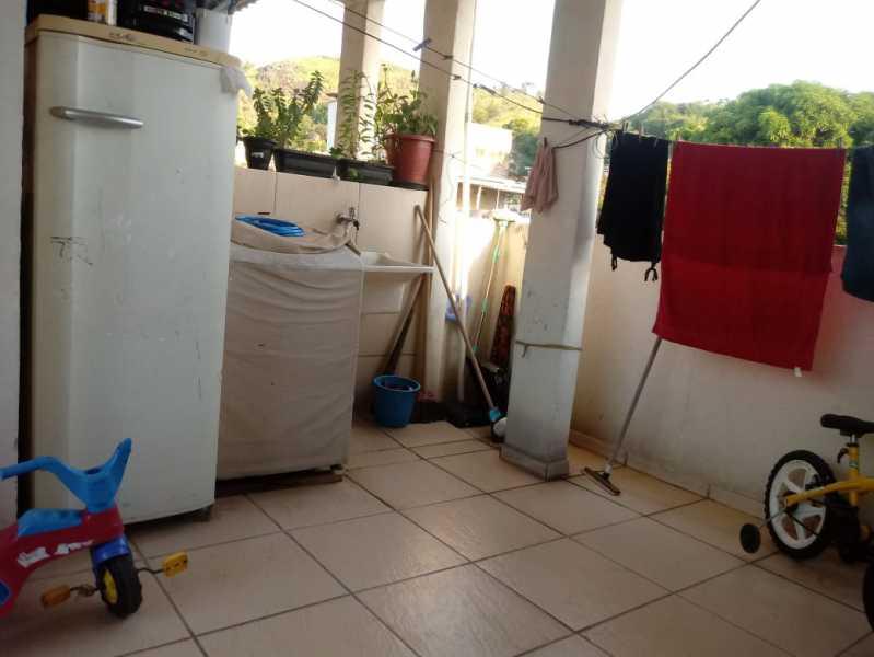 21 - Casa em Condomínio à venda Rua Piratuba,Rocha Miranda, Rio de Janeiro - R$ 250.000 - VPCN20037 - 22