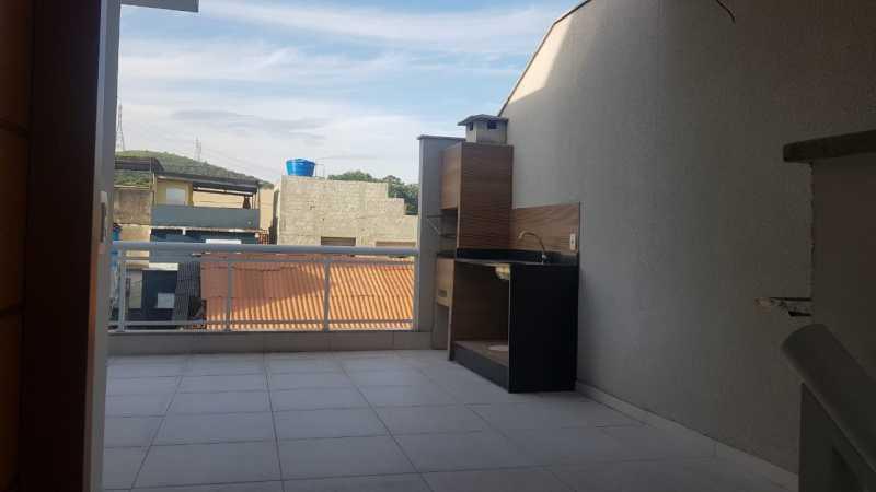 Churrasqueira - Casa 3 quartos à venda Tanque, Rio de Janeiro - R$ 395.000 - VPCA30252 - 9