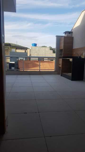 Terraço - Casa 3 quartos à venda Tanque, Rio de Janeiro - R$ 395.000 - VPCA30252 - 14