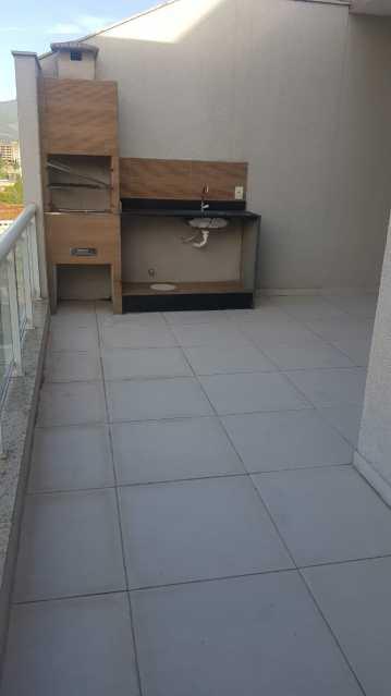 Varanda terraço - Casa à venda Rua Manuel Vieira,Tanque, Rio de Janeiro - R$ 395.000 - VPCA30254 - 12