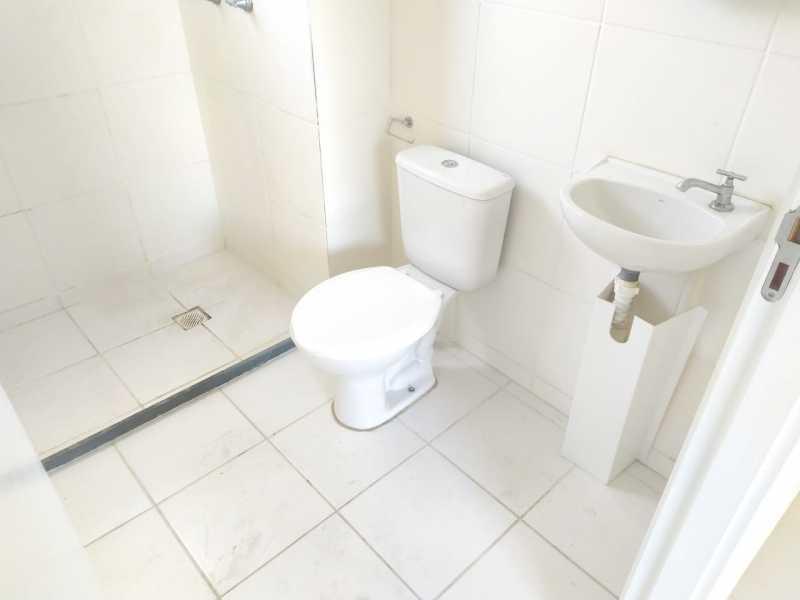 Banheiro - Apartamento 2 quartos à venda Bonsucesso, Rio de Janeiro - R$ 175.000 - VPAP21776 - 15