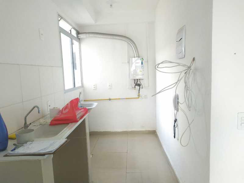 Cozinha e área de serviço - Apartamento 2 quartos à venda Bonsucesso, Rio de Janeiro - R$ 175.000 - VPAP21776 - 20