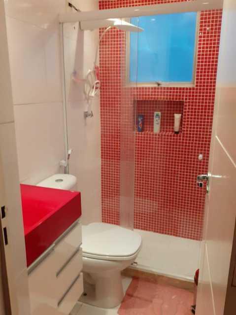 Banheiro Social - Apartamento à venda Rua Patagônia,Penha, Rio de Janeiro - R$ 290.000 - VPAP21777 - 13
