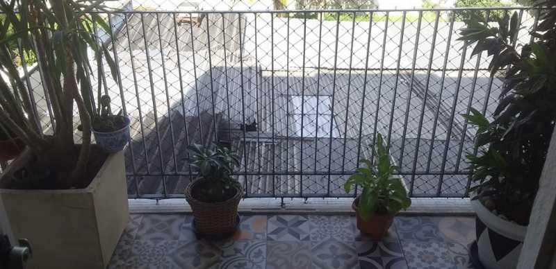 03 - Varanda - Apartamento 2 quartos à venda Praça Seca, Rio de Janeiro - R$ 220.000 - VPAP21780 - 4