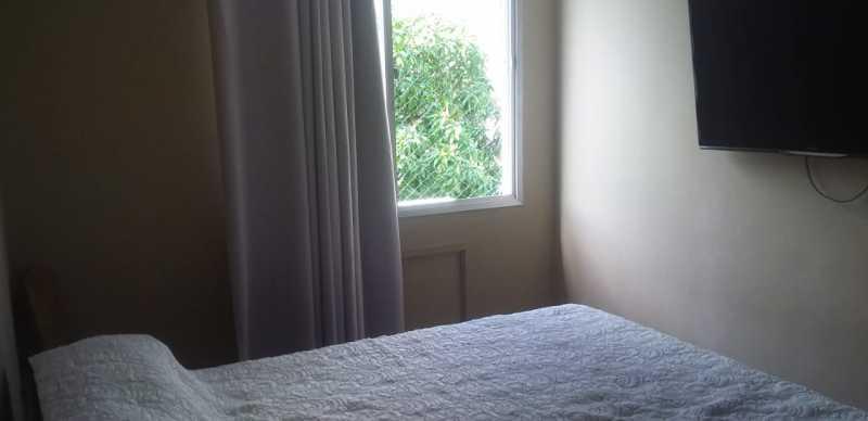 06 - Quarto Casal - Apartamento 2 quartos à venda Praça Seca, Rio de Janeiro - R$ 220.000 - VPAP21780 - 7