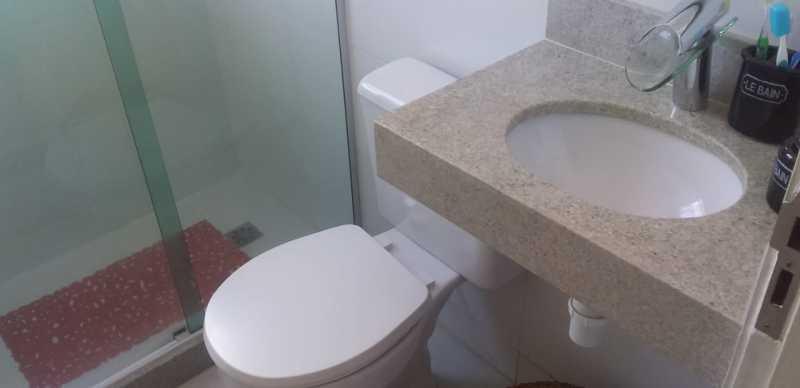 15 - Banheiro Social - Apartamento 2 quartos à venda Praça Seca, Rio de Janeiro - R$ 220.000 - VPAP21780 - 16