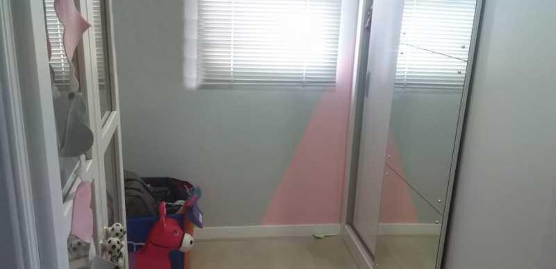 17 - Dependência Empregada - Apartamento 2 quartos à venda Praça Seca, Rio de Janeiro - R$ 220.000 - VPAP21780 - 18