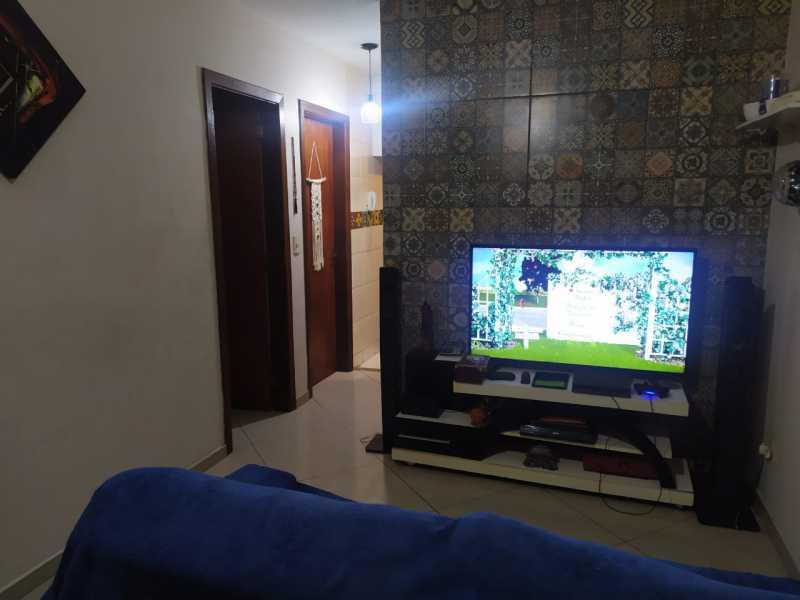 2-sala - Casa em Condomínio à venda Estrada São Mateus,Jardim Primavera, Duque de Caxias - R$ 270.000 - VPCN20038 - 3