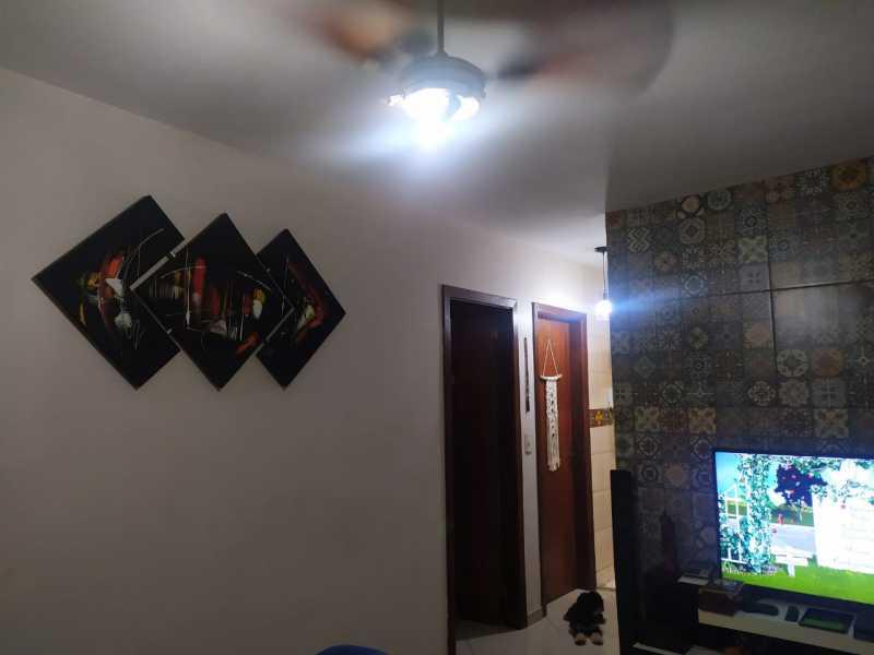3-sala - Casa em Condomínio à venda Estrada São Mateus,Jardim Primavera, Duque de Caxias - R$ 270.000 - VPCN20038 - 4