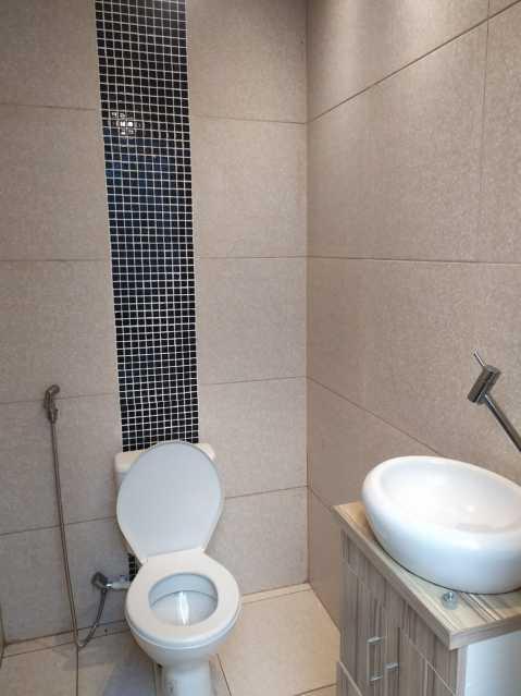 16-lavabo - Casa em Condomínio à venda Estrada São Mateus,Jardim Primavera, Duque de Caxias - R$ 270.000 - VPCN20038 - 17