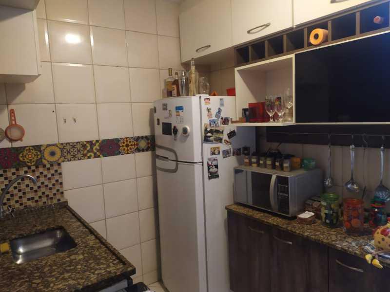 19-cozinha - Casa em Condomínio à venda Estrada São Mateus,Jardim Primavera, Duque de Caxias - R$ 270.000 - VPCN20038 - 20