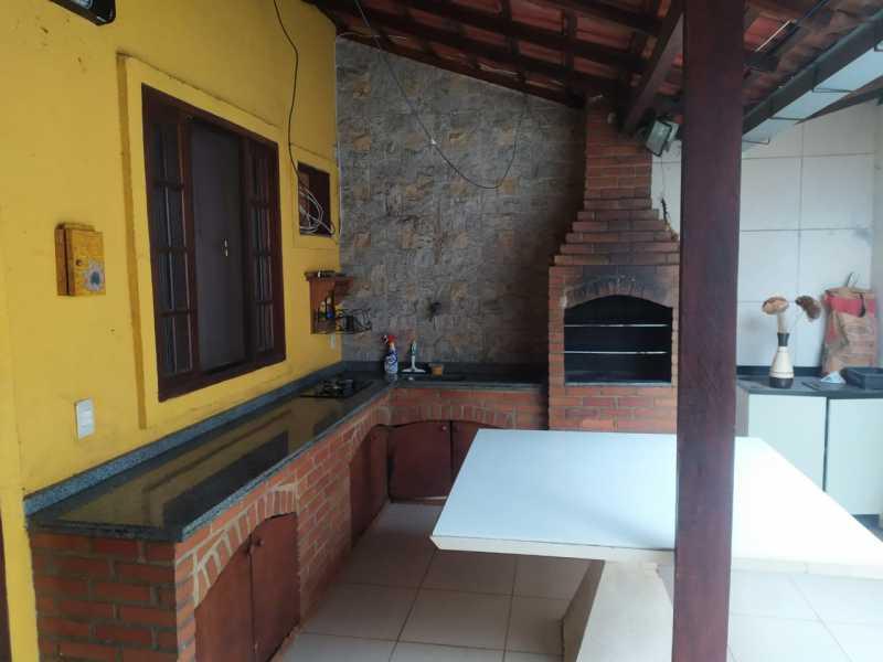22-area gourmet - Casa em Condomínio à venda Estrada São Mateus,Jardim Primavera, Duque de Caxias - R$ 270.000 - VPCN20038 - 23