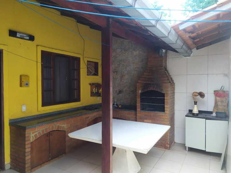 23-area gourmet - Casa em Condomínio à venda Estrada São Mateus,Jardim Primavera, Duque de Caxias - R$ 270.000 - VPCN20038 - 24