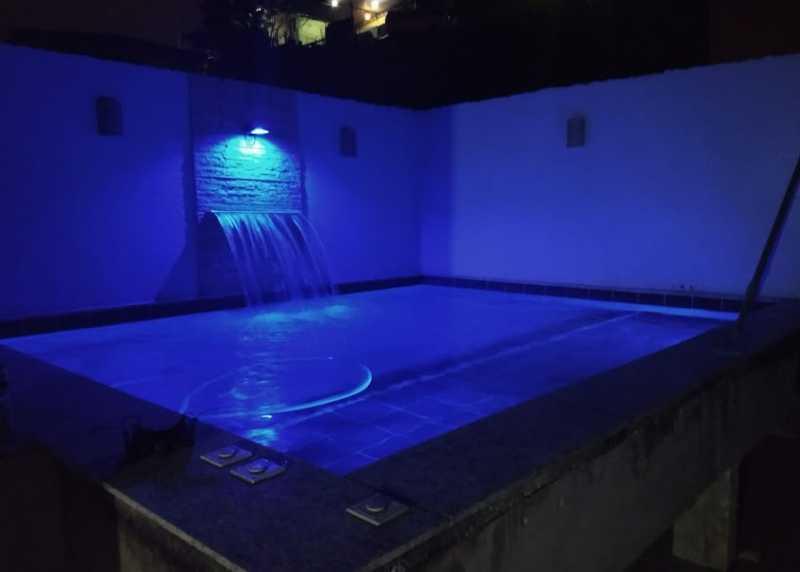 01- piscina - Apartamento à venda Estrada da Covanca,Tanque, Rio de Janeiro - R$ 580.000 - VPAP30468 - 1