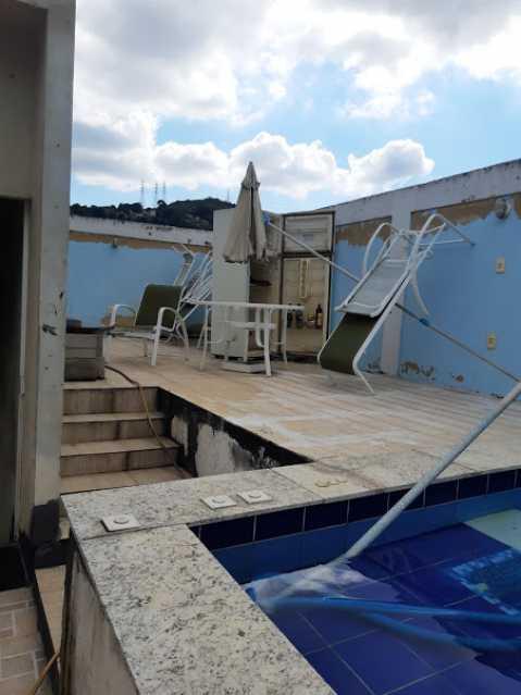03- piscina - Apartamento à venda Estrada da Covanca,Tanque, Rio de Janeiro - R$ 580.000 - VPAP30468 - 4