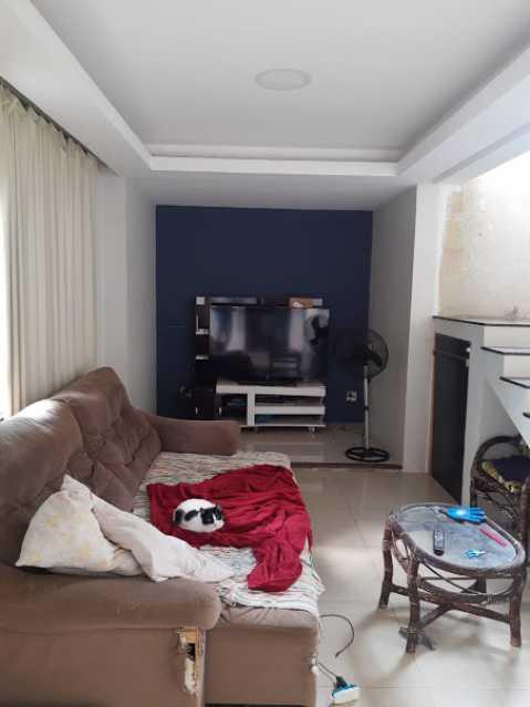 05- sala - Apartamento à venda Estrada da Covanca,Tanque, Rio de Janeiro - R$ 580.000 - VPAP30468 - 6