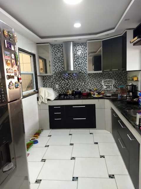 12- cozinha - Apartamento à venda Estrada da Covanca,Tanque, Rio de Janeiro - R$ 580.000 - VPAP30468 - 14