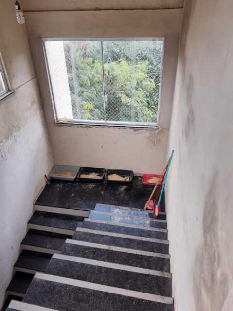 13- escada acesso - Apartamento à venda Estrada da Covanca,Tanque, Rio de Janeiro - R$ 580.000 - VPAP30468 - 15