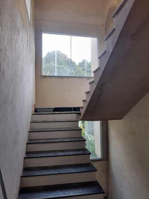 14- escada - Apartamento à venda Estrada da Covanca,Tanque, Rio de Janeiro - R$ 580.000 - VPAP30468 - 16