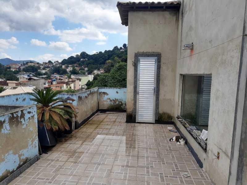 21- varanda - Apartamento à venda Estrada da Covanca,Tanque, Rio de Janeiro - R$ 580.000 - VPAP30468 - 23