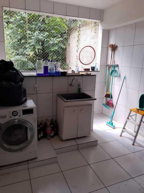 24- lavanderia - Apartamento à venda Estrada da Covanca,Tanque, Rio de Janeiro - R$ 580.000 - VPAP30468 - 26
