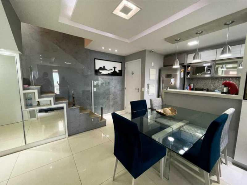03- Sala - Cobertura à venda Avenida Ator José Wilker,Jacarepaguá, Rio de Janeiro - R$ 1.265.000 - VPCO60001 - 4