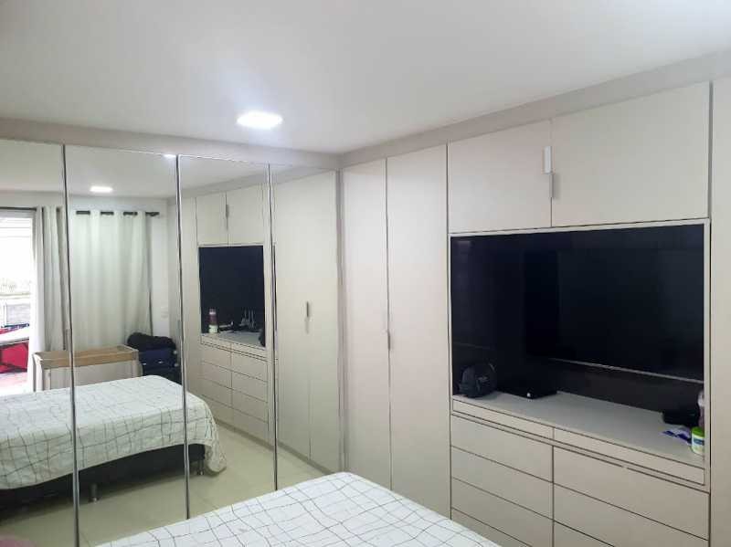 09- Quarto C. - Cobertura à venda Avenida Ator José Wilker,Jacarepaguá, Rio de Janeiro - R$ 1.265.000 - VPCO60001 - 11