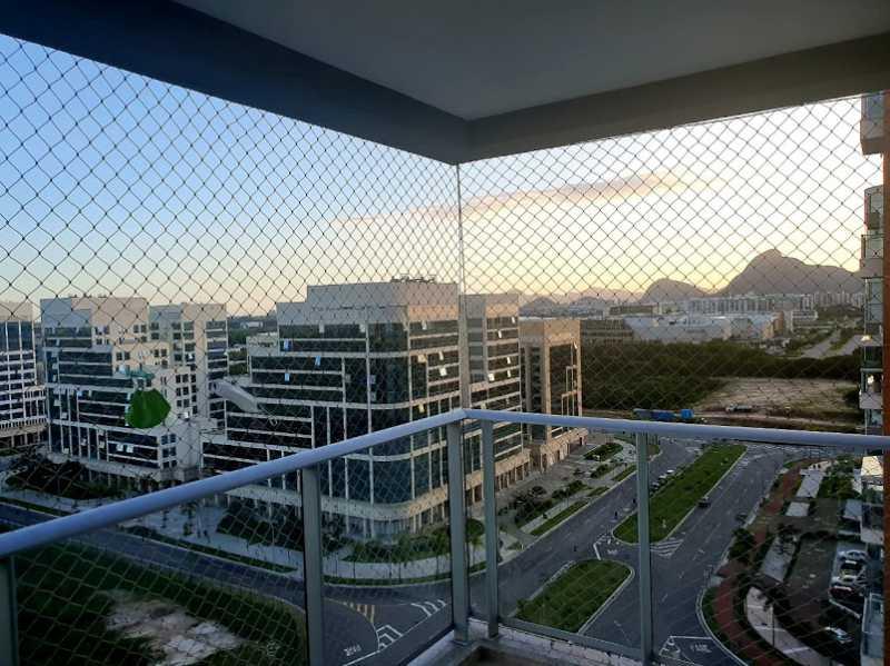 18- Vista Varanda - Cobertura à venda Avenida Ator José Wilker,Jacarepaguá, Rio de Janeiro - R$ 1.265.000 - VPCO60001 - 20