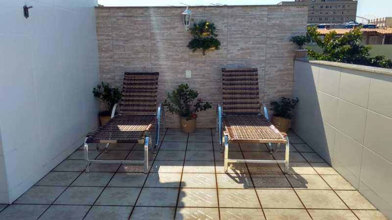 17-Terraço aberto - Casa 3 quartos à venda Engenho de Dentro, Rio de Janeiro - R$ 640.000 - VPCA30241 - 18