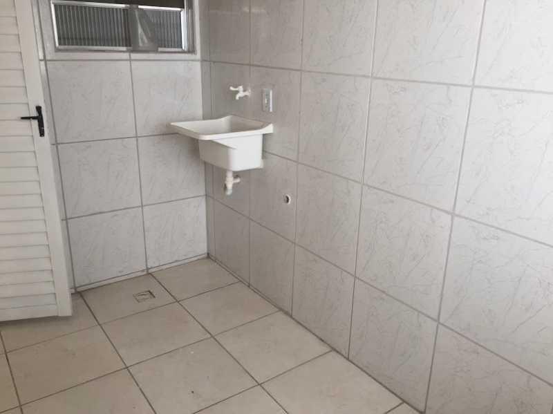 17- area - Casa de Vila à venda Rua Leopoldina Rego,Ramos, Rio de Janeiro - R$ 185.000 - VPCV10041 - 18