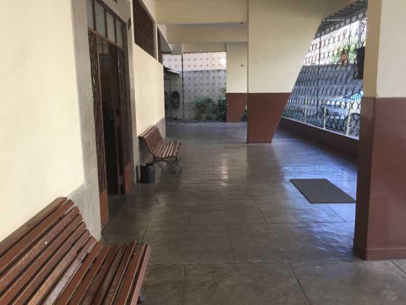 01- Entrada prédio - Apartamento à venda Rua Surui,Braz de Pina, Rio de Janeiro - R$ 165.000 - VPAP21808 - 1
