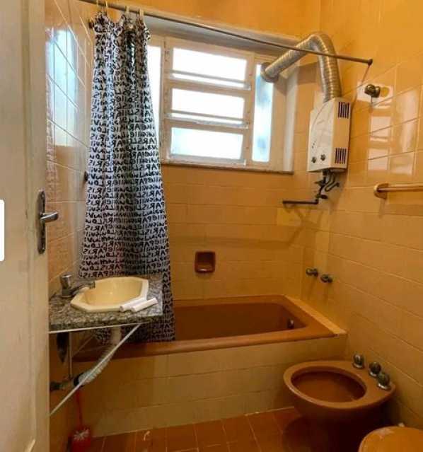 Banheiro social - Apartamento 2 quartos à venda Copacabana, Rio de Janeiro - R$ 640.000 - VPAP21810 - 7