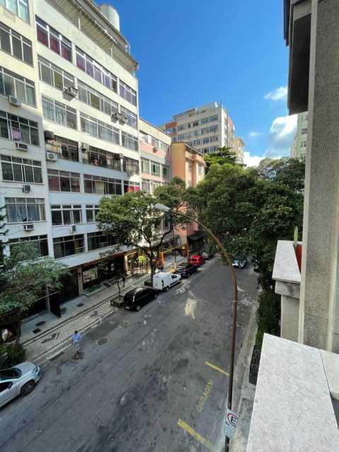 Vista da Rua - Apartamento 2 quartos à venda Copacabana, Rio de Janeiro - R$ 640.000 - VPAP21810 - 15