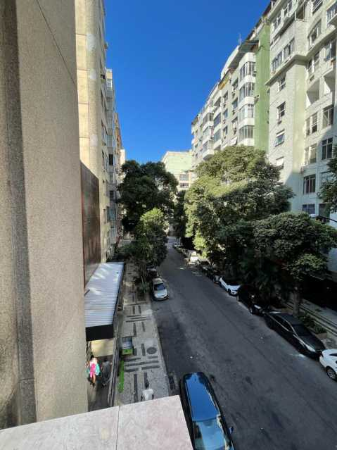 Vista do prédio. - Apartamento 2 quartos à venda Copacabana, Rio de Janeiro - R$ 640.000 - VPAP21810 - 16