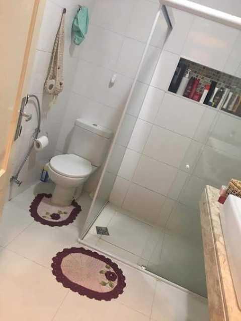 02- Banheiro social - Apartamento à venda Rua Boa Viagem,Braz de Pina, Rio de Janeiro - R$ 265.000 - VPAP30478 - 9